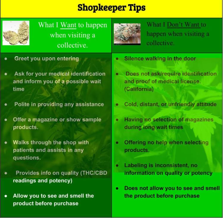 Shopkeeper Tips